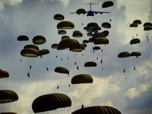 82nd Airborne out of Ft. Bragg NC