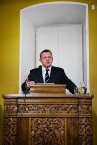 Danish P.M. Lars Løkke Rasmussen Declares Holy War on Libya in Church