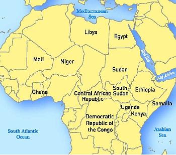 South Atlantic Africa – Map | nsnbc