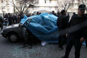 Mossad´s Deep Throats blare Murder at Teheran.