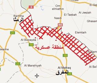 Al Mafraq NATO Mercenaries in Buffer Zone