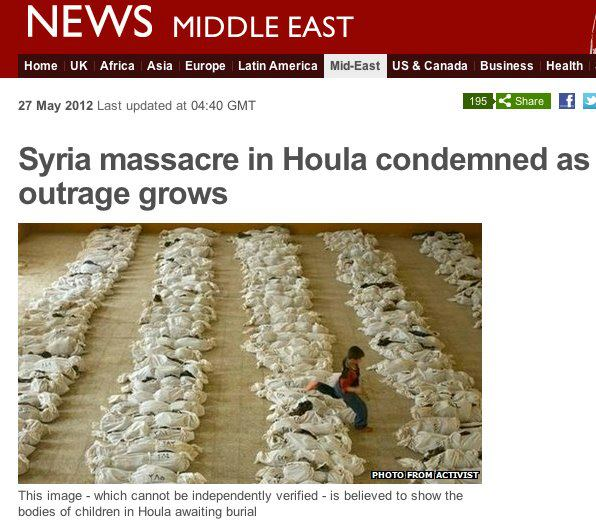 BBC Iraq recycled in Syria