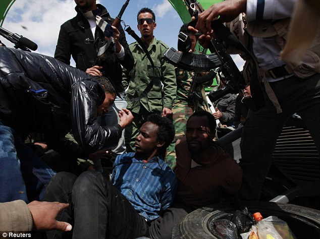 Libyan Rebels Killing Black Africans