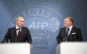 PM´s Putin and Rasmussen
