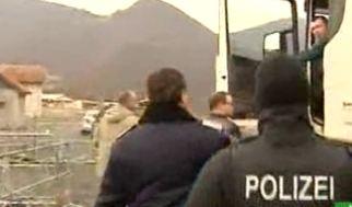 Russian onvoy Stopped at Kosovo Border