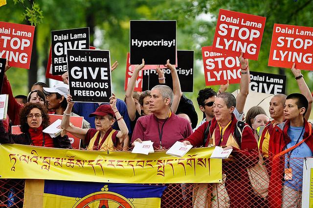 Dalai lama Stop Lying