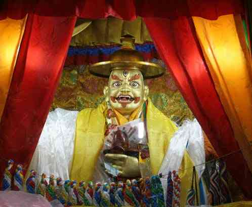 dorje-shugden-shrine-tibet