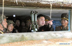 DPRK leader visits front-line artillery unit ahead of S.Korea-U.S. drills
