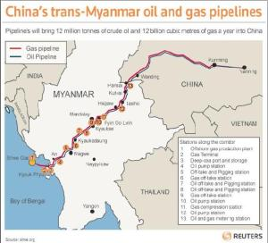 Myanmar, Gas and the Soros-Funded Explosion of A Nation State.