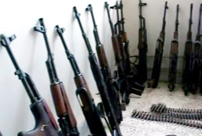Syria Arm Smuggling