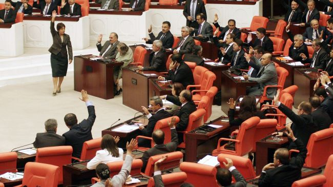 Turkey Parliament approves