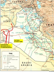 Saudi Smuggling Route to Syria Disclosed.
