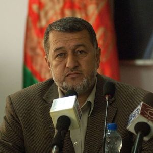 Afghanistan´s Defense Minister Bismillah Mohammadi. Photo by US Army Staff Sgt. Brandon Pomrenke