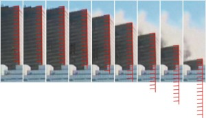 Building 7, Collapsed with free-fall acceleration. Photo, 9/11 Research