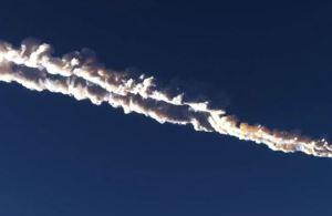 Chelyabinsk meteorite. Youtube shot from user G. Grim