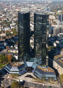 Deutsche Bank Headquarters, Frankfurt, Germany, Photo, Thomas Wolf, www.foto-tw.de