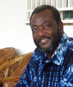 Dr. Oumar Mariko. Presidential Candidate SADI, Mali