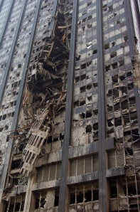 Deutsche Bank, 11 September 2001 New york, Photo: FEMA, Michael Rieger