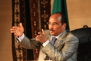 President Mohamed Ould Abdel Aziz. Photo, Magharebia